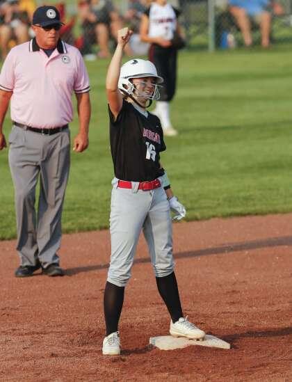 Photos: Western Dubuque vs. ADM, Class 4A Iowa high school state softball semifinals