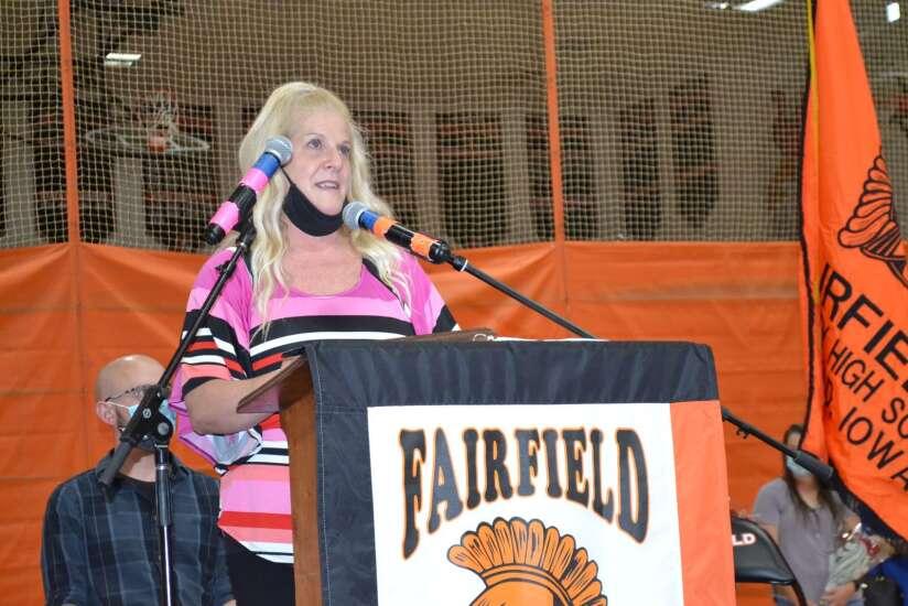Bowman named Fairfield Teacher of Year