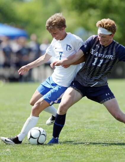 Photos: Cedar Rapids Xavier beats Bondurant-Farrar in Iowa Class 2A boys' state soccer championship