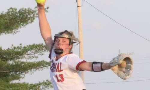 Cardinal softball upsets No. 11 Wapello