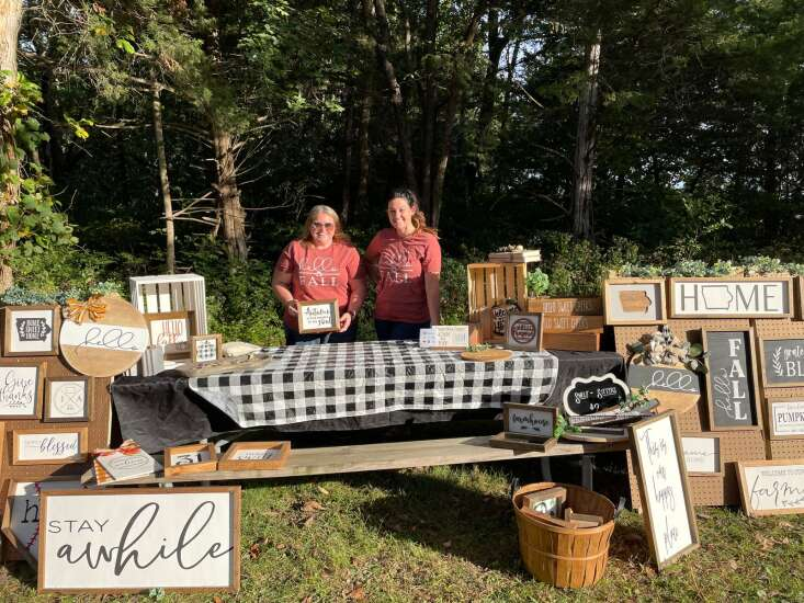 Wine, walking combine for fun at Oakland Mills
