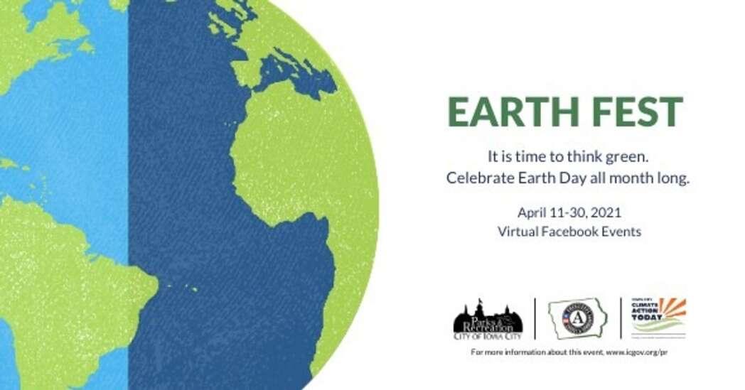 Iowa City Earth Fest goes virtual for 2021