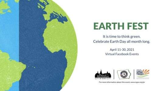 Iowa City Earth Fest goes virtual for 2021