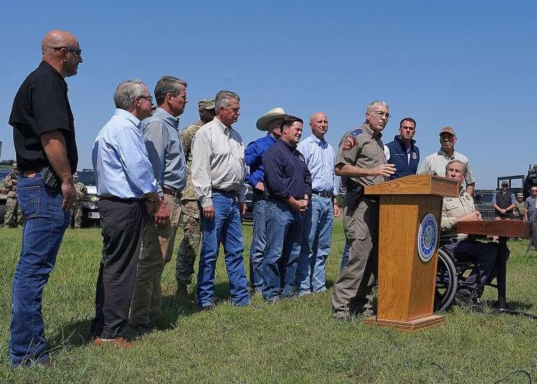 'People better wake up' to border crisis, says GOP Iowa Gov. Kim Reynolds