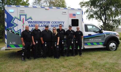 Washington County acquires new ambulance