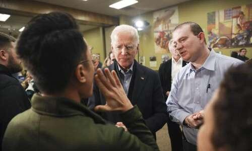 Joe Biden appeals to undecided, Trump-weary Democrats