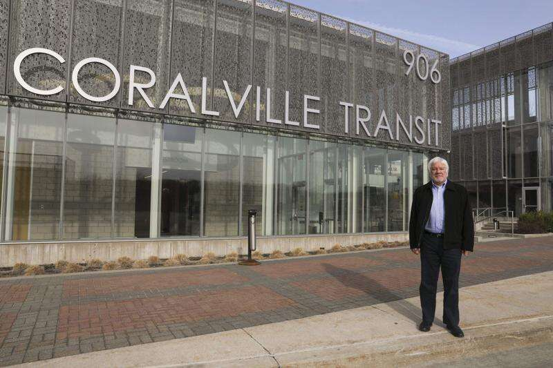 After nearly 35 years of shaping Coralville, City Engineer Dan Holderness retires