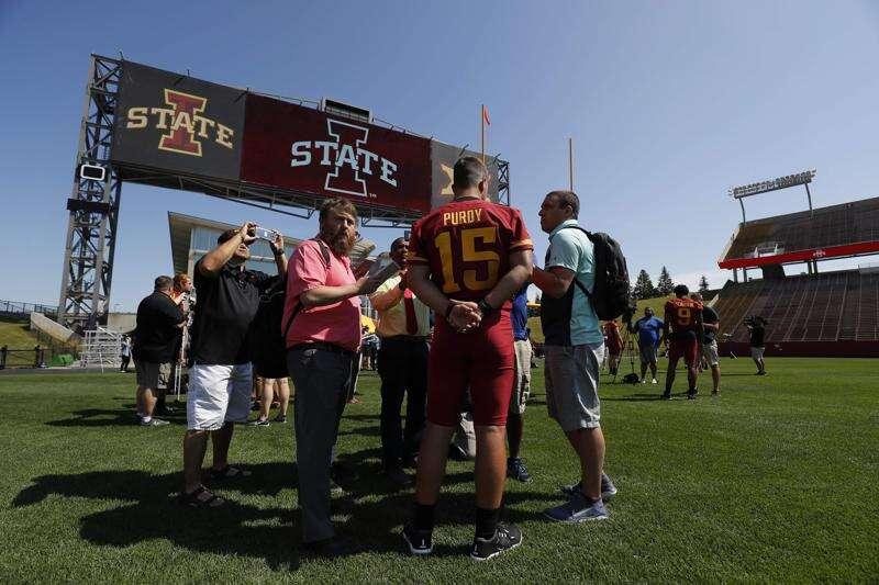 Photos: Iowa State football media day 2019