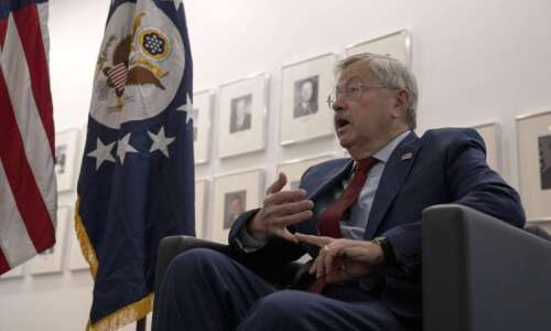 US ambassador Terry Branstad defends tough approach to China in…