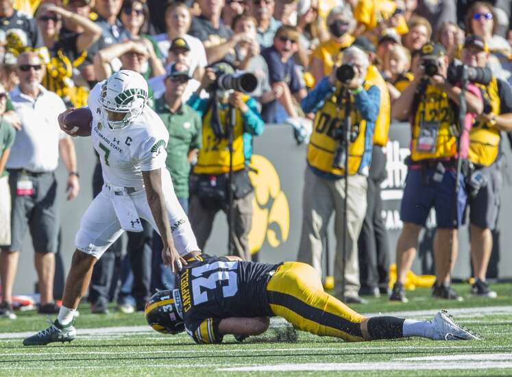 Iowa Hawkeyes profusely perspired, but persevered vs. Colorado State