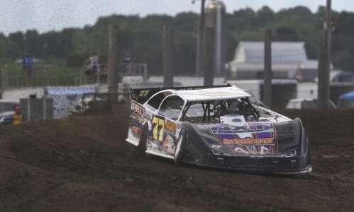 Jeff Aikey teaching and still winning auto races