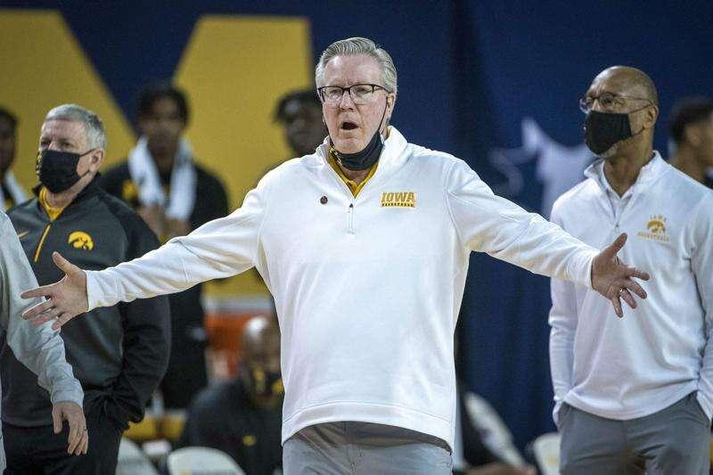 Iowa ranked No. 5 in AP men's basketball poll
