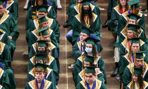 Kennedy celebrates first in-person graduation since pandemic for CR schools