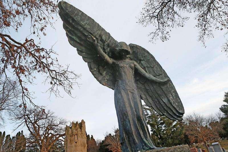 Time Machine: Teresa Dolezal Feldevert's Black Angel