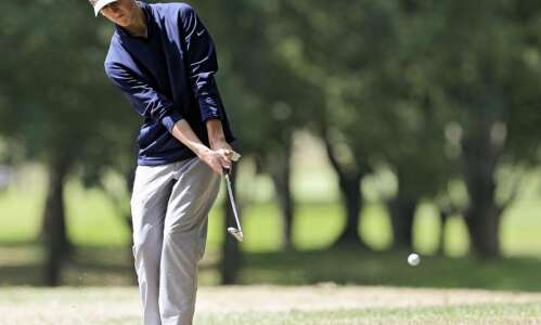 MVC golf divisional races intensify after two rounds