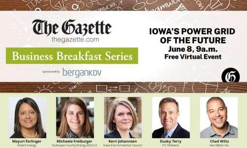 Business Breakfast #2: Iowa's Power Grid of the Future -…