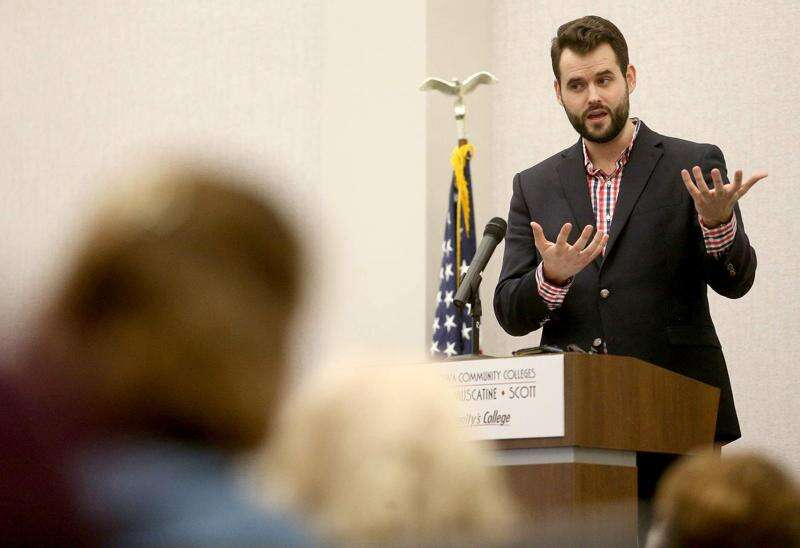 Zach Wahls weighs entering race to replace Loebsack