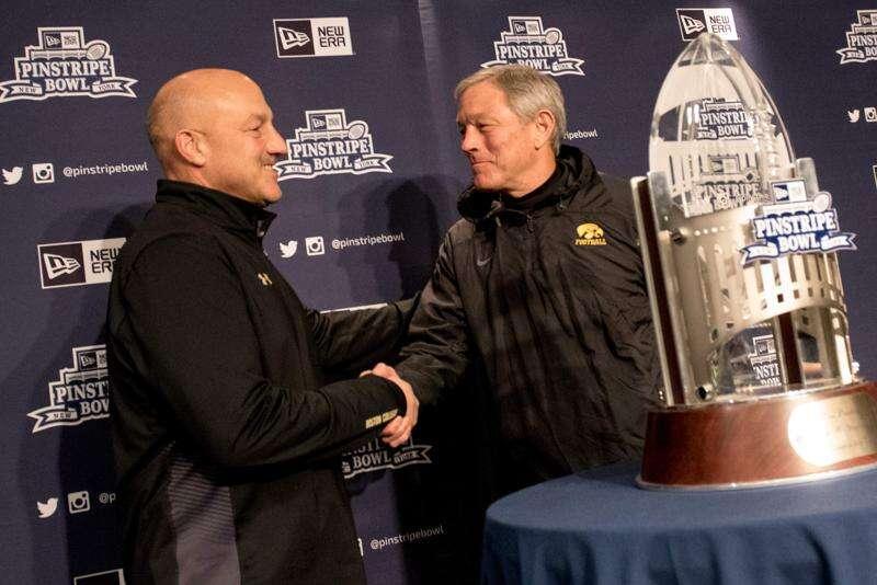 5 Things: Pinstripe Bowl, Iowa vs. Boston College
