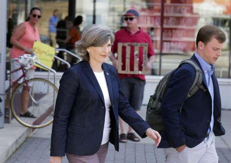 Ernst calls for border security, permanent fix for asylum system
