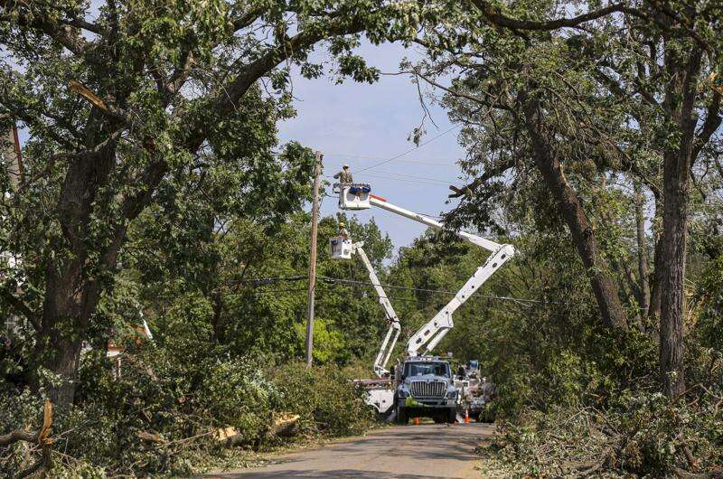 Alliant Energy again vows 'majority' of Cedar Rapids customers will have power back by Tuesday