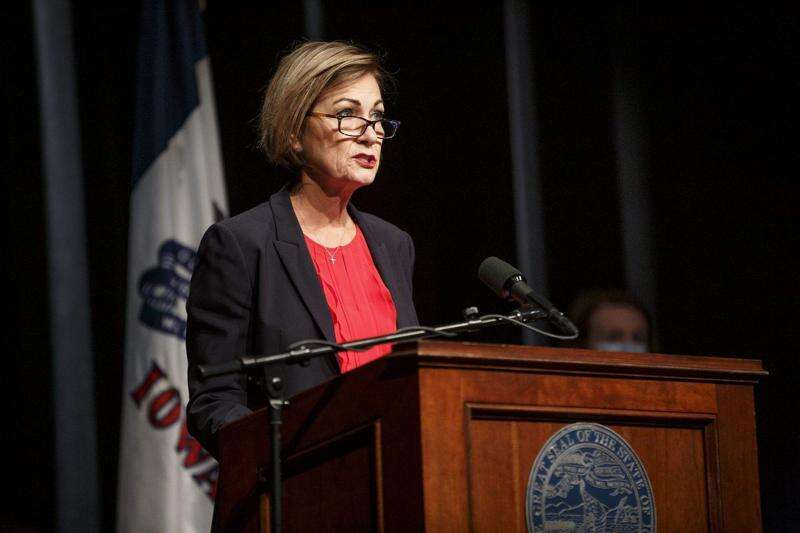 Watch: Gov. Kim Reynolds speaks at 11 a.m. as COVID-19 cases in Iowa continue to rise
