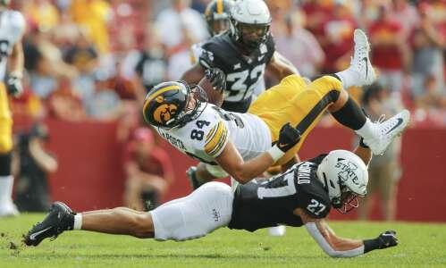 Iowa State runs over itself against Iowa