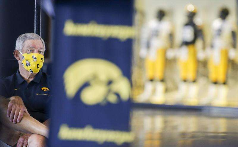 With Iowa football season finally here, daily testing and 'doing the right thing' can help it endure