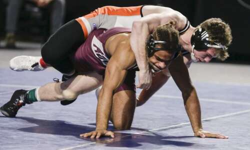 NWCA D-III wrestling: Kyle Briggs' hard work pays off with…