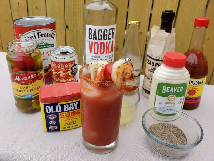 Toast your mom with this Bloody Mary recipe on Mother's Day