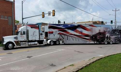 Mobile 9/11 memorial exhibit stops at Washington County Fair