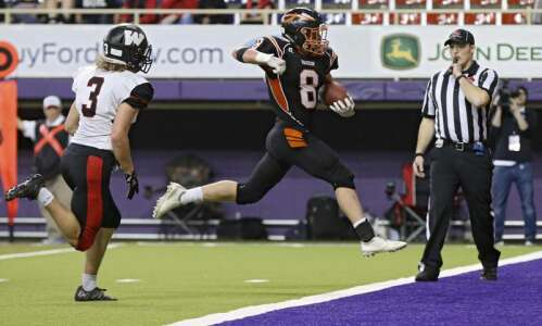 A Waukon walkover: Indians take Class 2A state title with…