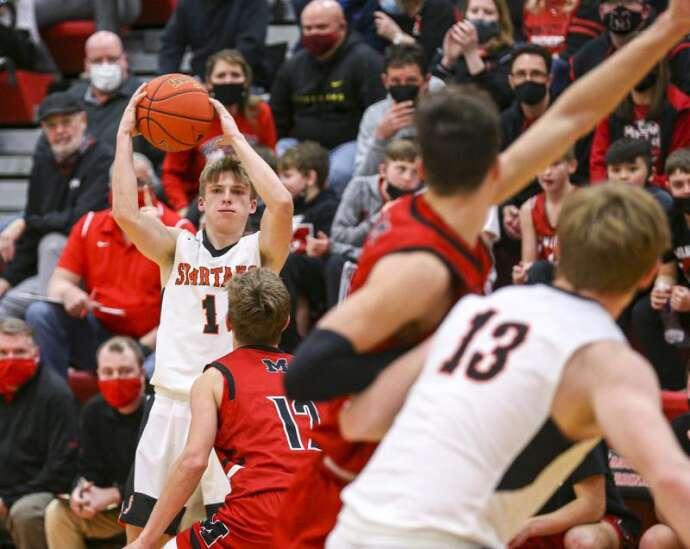 Photos: Solon vs. Monticello, Class 3A Iowa high school boys' basketball substate finals