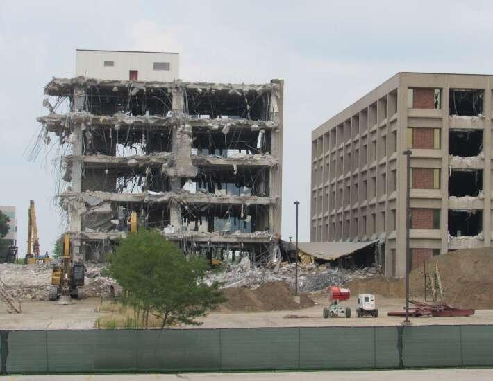 Transamerica site razing continues