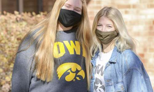 Inside University of Iowa campus isolation: First the COVID glares,…