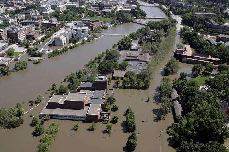 University of Iowa using flood funding, lost scholarships to balance budget
