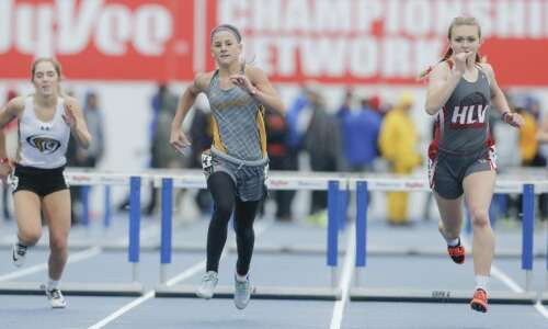 Sigourney's Summer Barthelman collects 400-meter hurdles state title