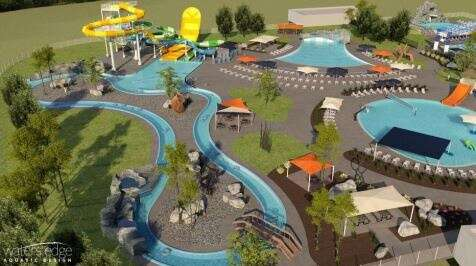 Marion aquatic center could feature lazy river, wave pool, three slides