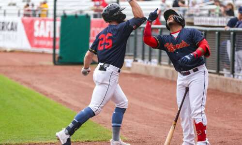 Cedar Rapids Kernels roll past South Bend, giving Manager Brian…