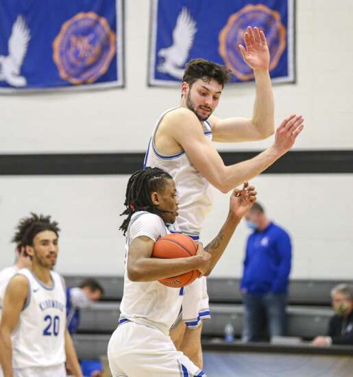 Photos: Kirkwood men's basketball hosts Marshalltown