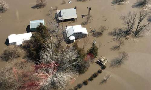 When floodwaters rose in Iowa, resources for mental health services…