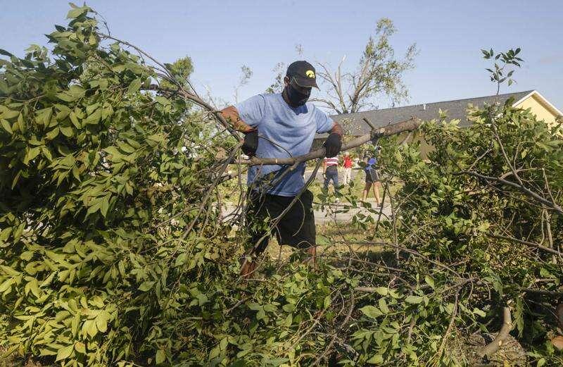 Photos: Derecho Recovery on Saturday, Aug. 15, 2020
