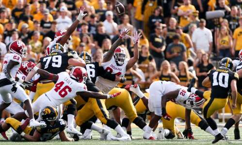 An Iowa State record-holder's son gets his shot at Iowa