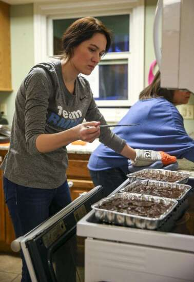 Dubuque family helps feed a need at Ronald McDonald House in Iowa City