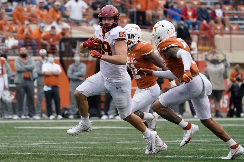Taylor Mouser, Iowa State tight ends to attempt takeover of the offense