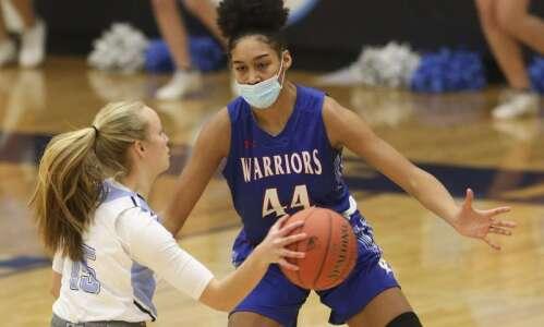 Photos: C.R. Washington vs. C.R. Jefferson, Iowa high school girls'…