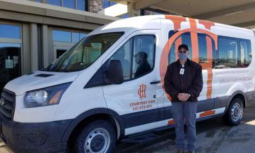 Jefferson County Health Center gets new courtesy van
