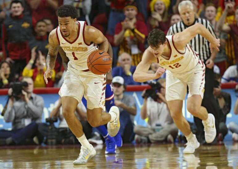 Nick Weiler-Babb is the steady hand for Iowa State men's basketball