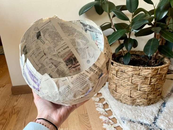 How to make (and pronounce) papier-mâché