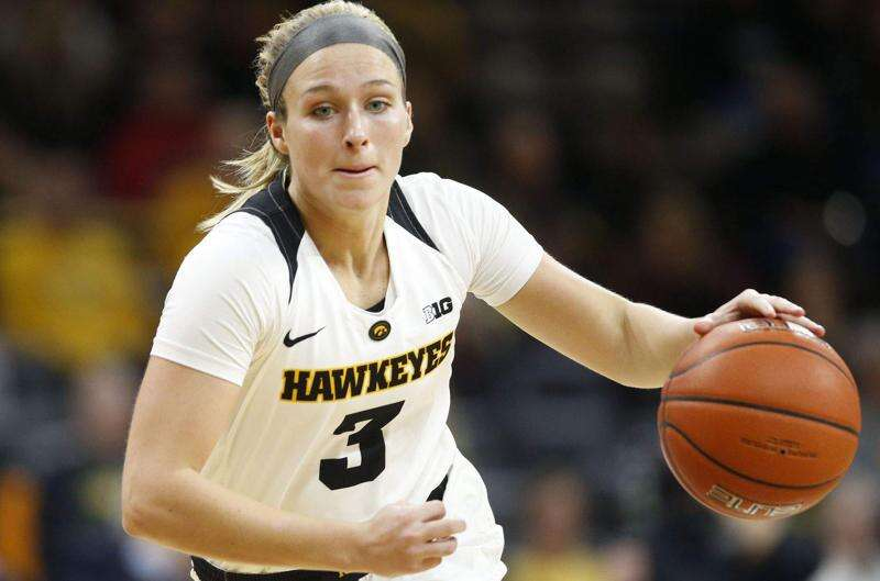 Makenzie Meyer ties career high with 21 points as Iowa holds off North Alabama