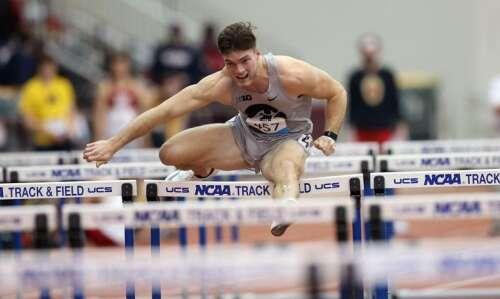 Iowa's Peyton Haack, a natural born multi-athlete